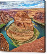 Horseshoe Bend - Colorado River - Arizona Acrylic Print