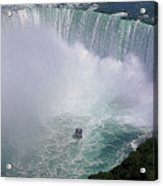 Horseshoe Falls And Maid Of The Mist Acrylic Print