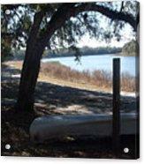 Horseshoe Lake At Orange Springs Florida Acrylic Print