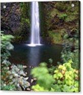 Horsetail Falls Basin Acrylic Print
