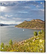 Horsetooth Dam Co Acrylic Print