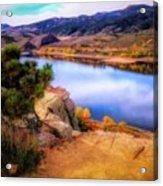 Horsetooth Lake Overlook Acrylic Print