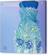 Horticouture Vogue Dress Exhibit Acrylic Print