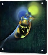 Horus Egyptian God Of The Sky Acrylic Print by Menega Sabidussi
