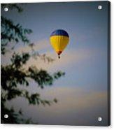 Hot Air Ballon In Oklahoma Acrylic Print