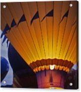 Hot Air Balloon - 10 Acrylic Print by Randy Muir