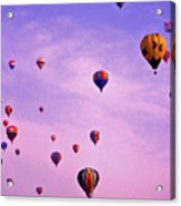 Hot Air Balloon - 13 Acrylic Print by Randy Muir
