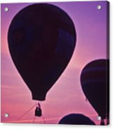 Hot Air Balloon - 8 Acrylic Print by Randy Muir
