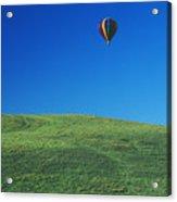 Hot Air Balloon In Hawaii Acrylic Print