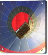 Hot Air Balloon Acrylic Print by Richard Mitchell
