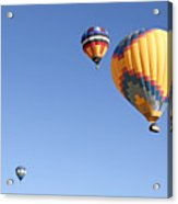 Hot Air Balloon Ride A Special Adventure Acrylic Print