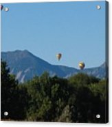 hot air balloons SCN M 23 Acrylic Print