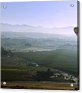 Hot Air Baloon Temecula Ca Acrylic Print