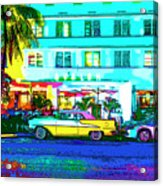 Hot Avalon Acrylic Print