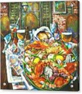 Hot Boiled Crabs Acrylic Print