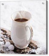 Hot Chocolate Drink Acrylic Print
