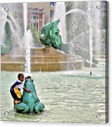 Hot Day In Philly Acrylic Print
