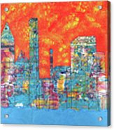 Hot Day In The City Acrylic Print