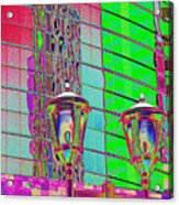 Hot Enough to Melt the Buildings Acrylic Print