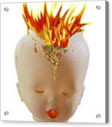 Hot Head Acrylic Print