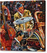 Hot Jazz Series 4 Acrylic Print