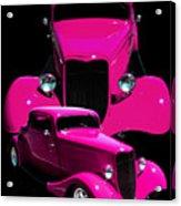 Hot Pink 33  Acrylic Print