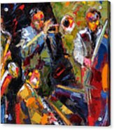 Hot Quartet Acrylic Print