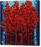 Hot Reds Acrylic Print