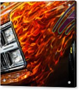 Hot Rod Chevrolet Scotsdale 1978 Acrylic Print