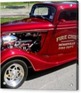 Hot Rod Chief Acrylic Print