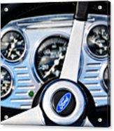 Hot Rod Ford Steering Wheel Acrylic Print