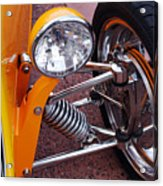 Hot Rod Headlight Acrylic Print