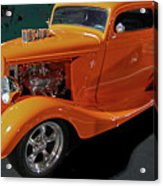 Hot Rod Orange Acrylic Print
