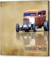 Hot Rod Reflection Acrylic Print