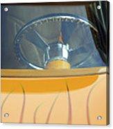Hot Rod Steering Wheel 2 Acrylic Print