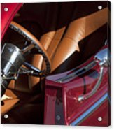 Hot Rod Steering Wheel Acrylic Print