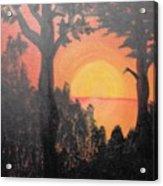 Hot Acrylic Print