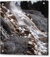 Hot Spring Fountain Acrylic Print