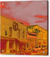 Hot Streets Acrylic Print