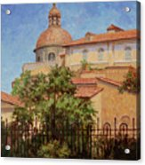 Hot Summer In Rome Acrylic Print