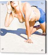 Hot Summer Acrylic Print
