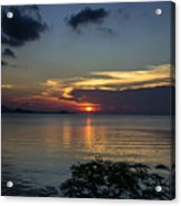 Hot Sunset Acrylic Print