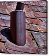 Hot Tin Roof Acrylic Print by Kelley King