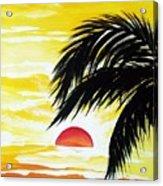 Hot Tropics Acrylic Print