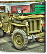 Hotchkiss Jeep Acrylic Print