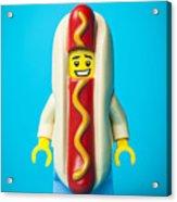 Hotdog Dude Acrylic Print