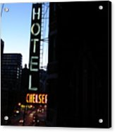 Hotel Chelsea Acrylic Print