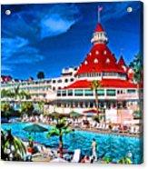 Hotel Coronado Acrylic Print