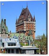 Hotel Fairmont Le Chateau Frontenac 6496 Acrylic Print