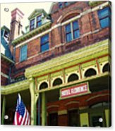 Hotel Florence Pullman National Monument Acrylic Print